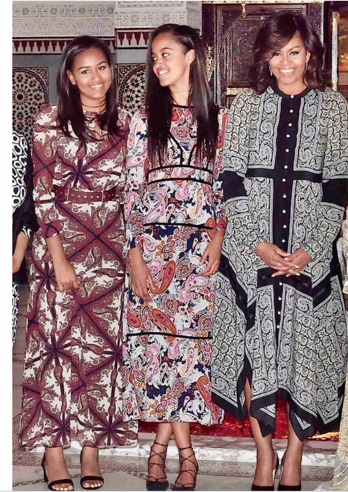 Les tenues de la 1ère famille américaine au Maroc font sensation