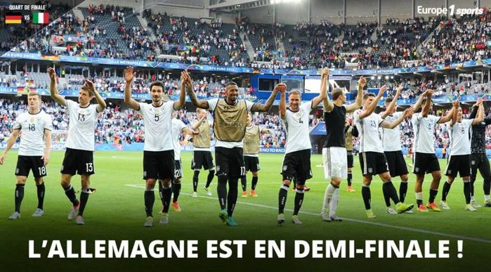 Euro 2016 : Au bout du suspense ! L'Allemagne se qualifie pour les demi-finales