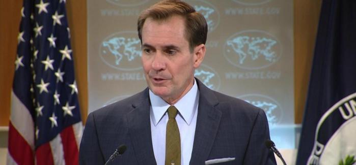 Communiqué de presse du Département d'Etat américain sur le sanglant attentat de Bagdad  (Par John Kirby  Secrétaire adjoint et porte - parole du Département, Bureau des affaires publiques)