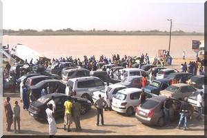 Rosso : Un bus fait naufrage sur le fleuve Sénégal avec 18 personnes à bord