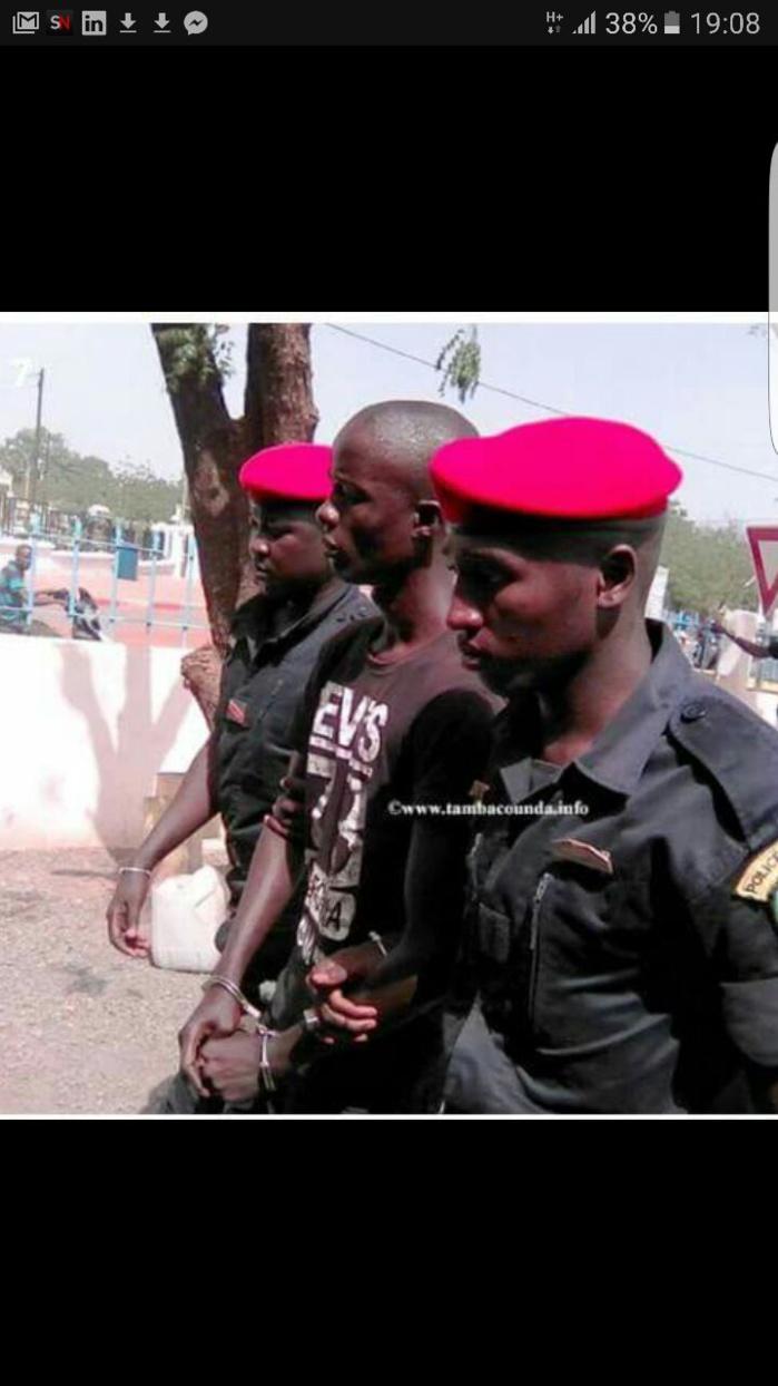 """""""Boy Djinné """" et sa bande sont arrivés au commissariat de Tamba à 15h 30"""