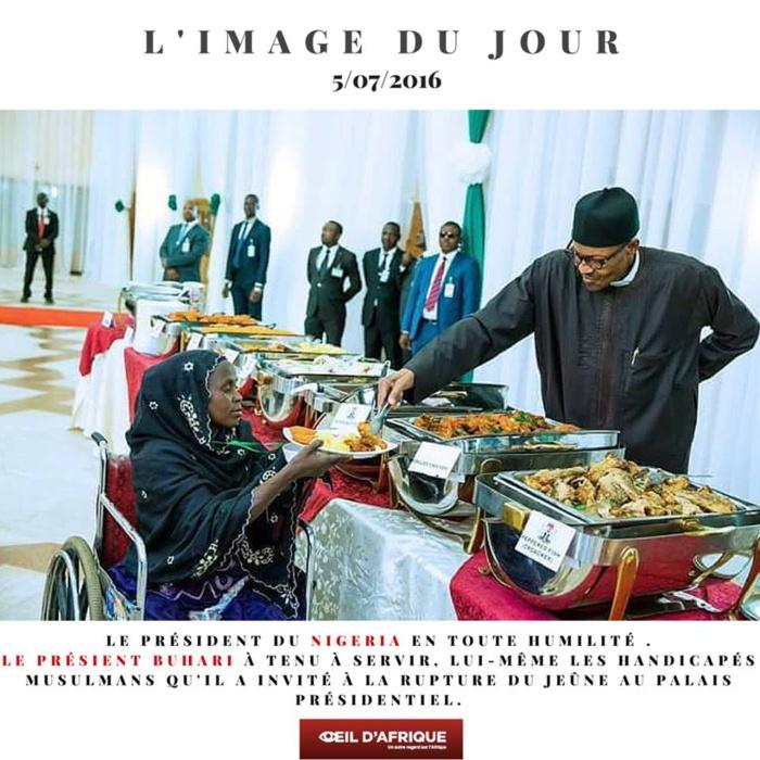 Belle leçon d'humanisme du Président Nigérian
