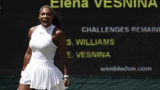 Serena Williams s'offre une neuvième finale à Wimbledon