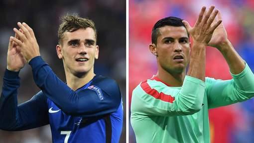Ronaldo-Griezmann, duel au soleil pour le Ballon d'Or