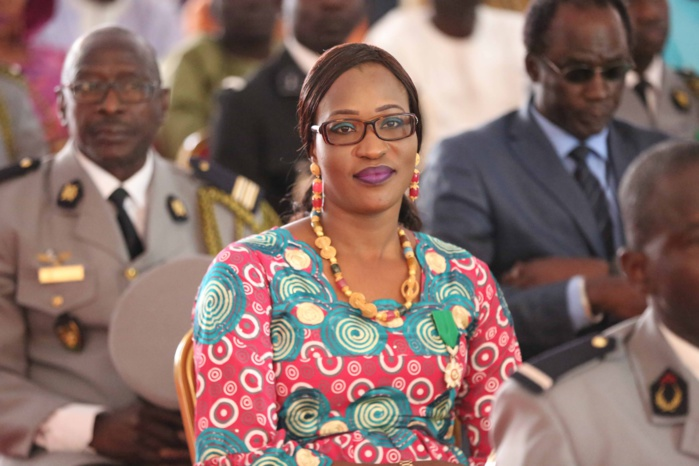Le ministre conseiller Zahra Iyane Thiam Diop, élevée au grade de l'Ordre national du Lion par le Président de la République Macky Sall
