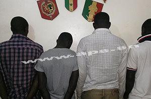 M'BOUR : Les voleurs saouls se bagarrent et atterrissent au Commissariat central