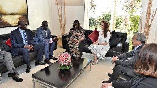 Commission mixte : Revue des partenariats entre les fondations des premières dames marocaine et sénégalaise