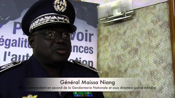 La gendarmerie nationale change de patron : Le général Meïssa Niang remplace le général Guèye Faye