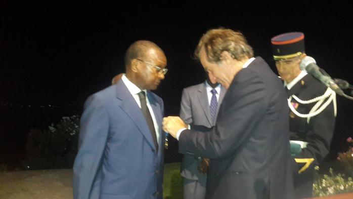 DÉCORATION : L'ambassadeur Doudou Salla Diop élevé au grade de Grand officier de l'ordre national du mérite français