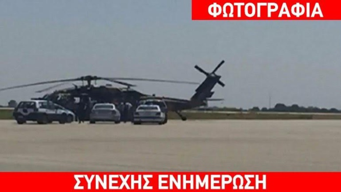 Un hélicoptère militaire turc atterrit en Grèce : huit passagers demandent l'asile