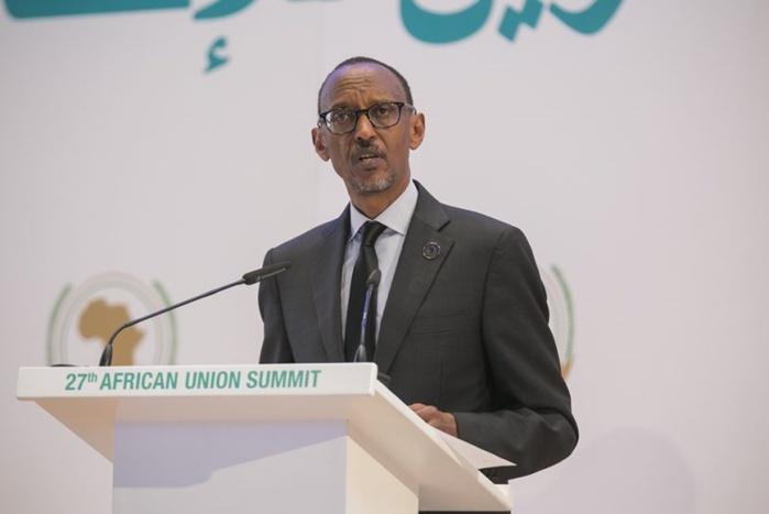 L'UA doit financer ses propres projets de développement (Paul Kagamé