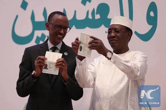 Le passeport africain lancé aujourd'hui à Kigali lors du sommet des chefs d'Etat de l'Union Africaine