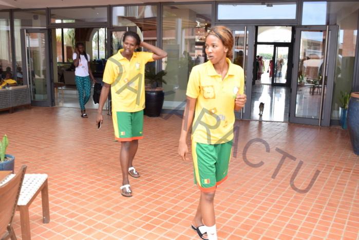 Les images du regroupement des Lionnes du Basket à l'hôtel les Almadies