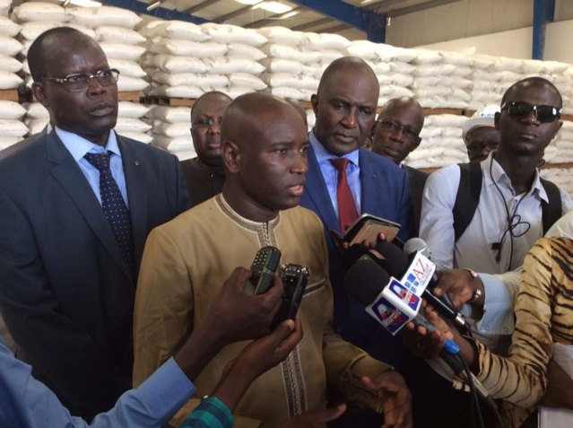 Aly Ngouille Ndiaye en visite à la SEDIMA «Impossible de développer son économie en se basant sur des étrangers»
