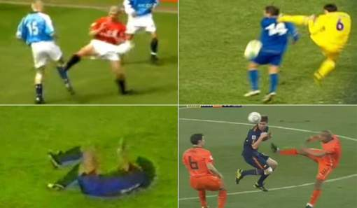 Les pires agressions de l'histoire du football