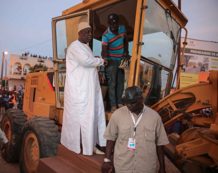 LANCEMENT DU PROGRAMME DE MODERNISATION DES VILLES DU SENEGAL PROMOVIL : Allocution du président Macky Sall