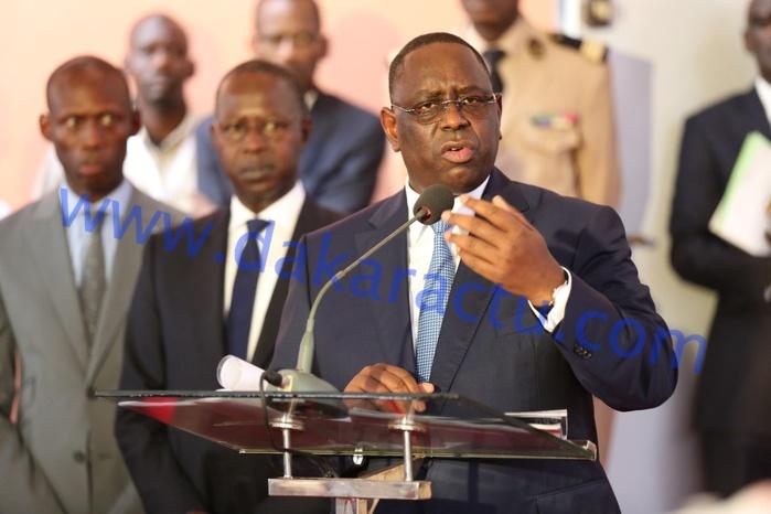 Engagements des conseils des ministres : 1700 milliards exécutés sur les 2872 promis, selon le Président Sall