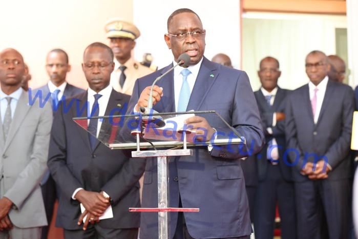 Conseil des ministres décentralisé : Les images de la conférence de presse du président Macky Sall