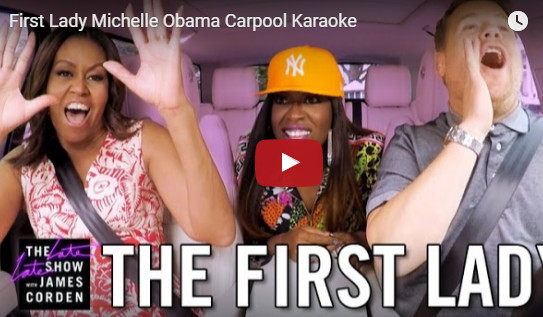 Michelle Obama : elle rappe « Get Your Freak On » avec Missy Elliott !
