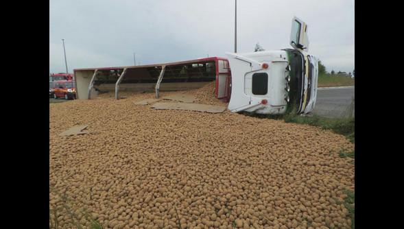 Thiaroye : Deux camions de pommes de terre pourries saisis