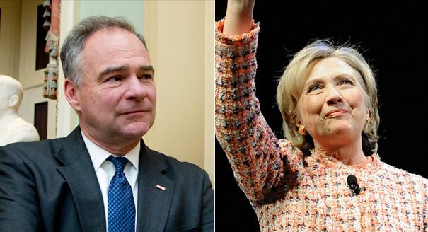 Hillary Clinton choisit comme colistier Tim Kaine, sénateur de Virginie