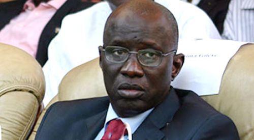 Décès de Iba Guèye : Aly N'gouille N'diaye à la levée du corps de l'ancien libéral