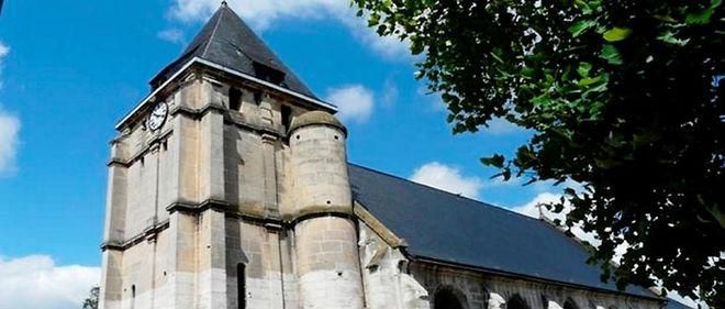Prise d'otages dans une église près de Rouen : le prêtre égorgé