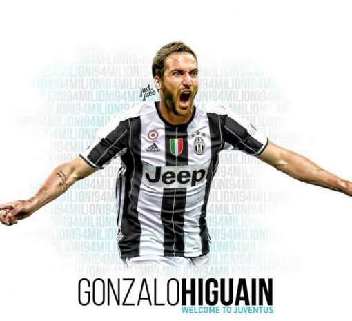 La Juve s'offre Higuain pour 90 millions d'euros
