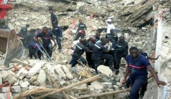 RUFSAC : Le pan du mur d'un hangar de riz s'effondre et fait un mort