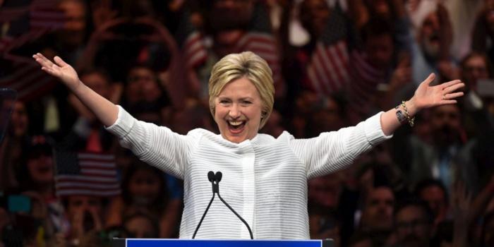 USA : Hillary Clinton désignée candidate démocrate à la Maison-Blanche