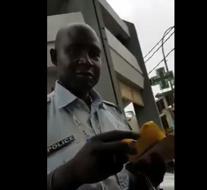 Vidéo buzz : Le policier corrompu arrêté, les filles traquées