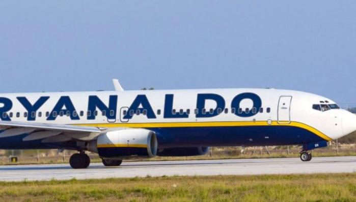Ryanaldo, l'avion en hommage à Ronaldo