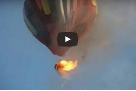 Une montgolfière s'écrase au Texas: 16 morts