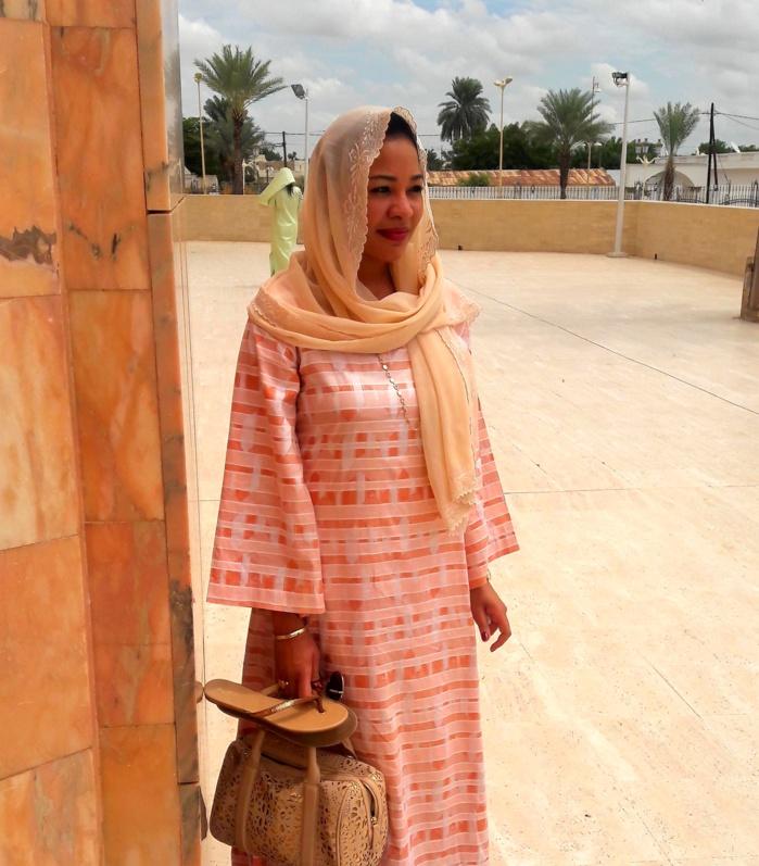 Touba : Léna Sène a fait acte d'allégeance auprès du porte-parole des mourides