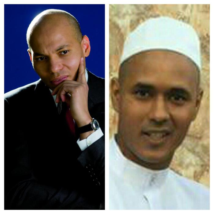 Karim Wade a joint au téléphone ce lundi 01 août 2016 Moïse Rampino,  au lendemain de son élargissement de prison.
