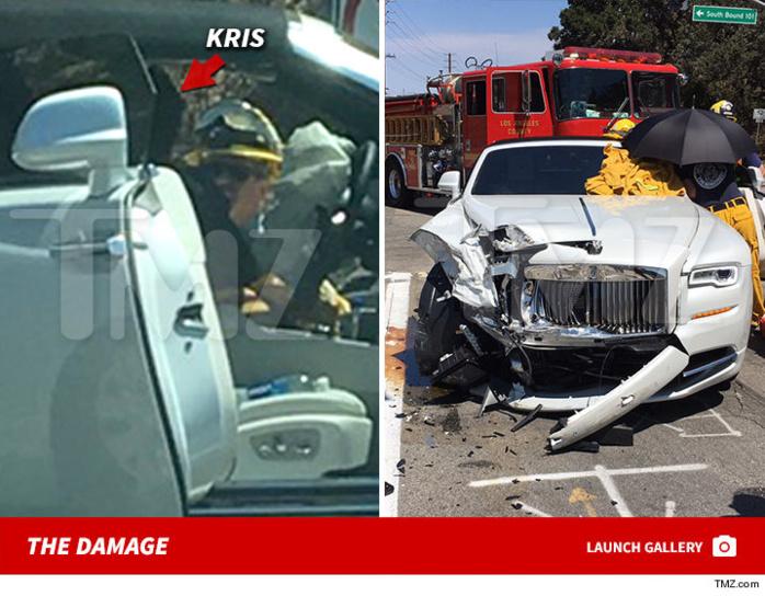 La maman des Kardashian gravement blessée dans un accident