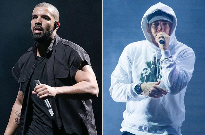 Drake VS Eminem : le prochain beef de l'année ? Internet s'enflamme déjà