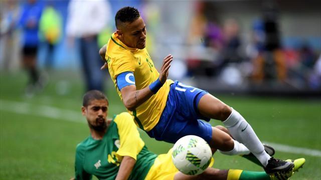 JO 2016 : Le Brésil rate ses débuts (0-0 face à l'Afrique du Sud)