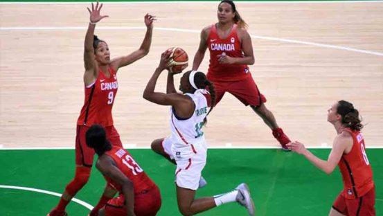 Basket : les lionnes n'ont pas pu créer la surprise face au canada