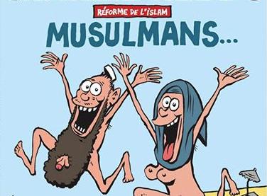 Charlie Hebdo à nouveau menacé d'attentat après une Une sur les musulmans