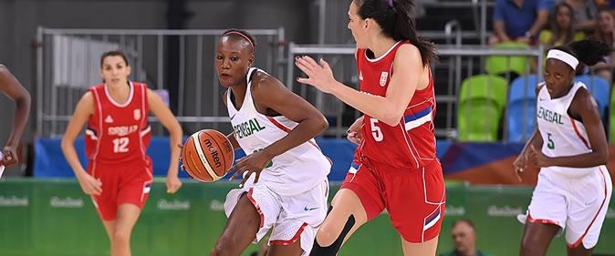 JO - Le Sénégal battu par la Serbie pour terminer (88-95)