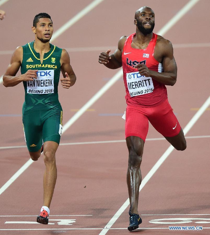 Jeux olympiques 2016: l'athlète sud-africain Wayde Van Niekerk a remporté la médaille d'or sur 400 mètres, avec un record du monde à la clé