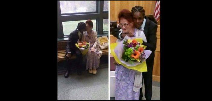 USA : Un jeune de 28 ans épouse une dame de 77 ans et fait le buzz malgré lui
