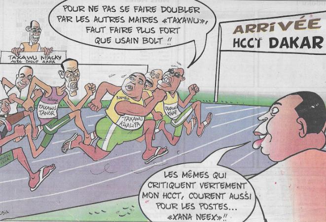 La course de Taxawu Khalifa et Taxawu Tanor organisée par Bolt Sall......Par Odia