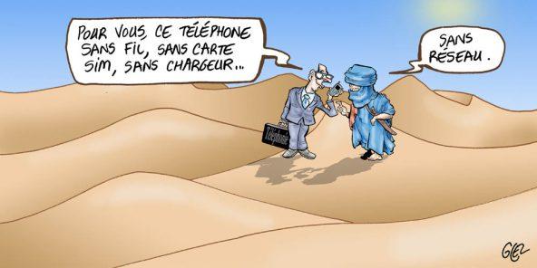 NAMIBIE : Un téléphone sans fil, sans SIM et sans crédit