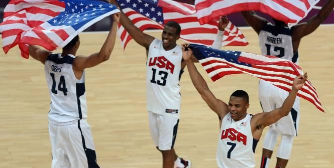 JO 2016 : L'équipe masculine de basket-ball des Etats-Unis remporte la médaille d'or en battant la Serbie par 96-66 en finale