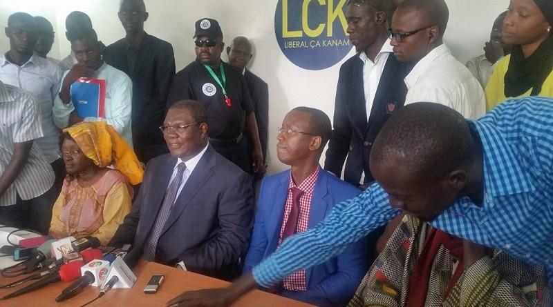 """Le Comité national provisoire des cadres de """"Liberal Ca kanam"""" exhorte ses cadres à descendre à la base pour massifier le parti"""