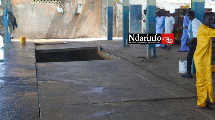 GUET- NDAR : Grosse panique lors de la visite du ministre Oumar GUÈYE au Quai de pêche. Regardez !