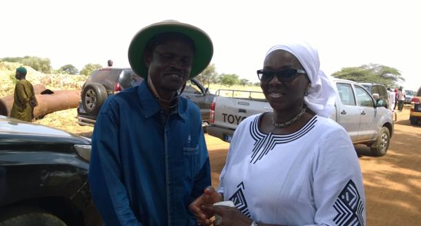 Le Ministre de l'Agriculture et de l'Equipement rural, Dr Papa Abdoulaye Seck à Gnith (Images)