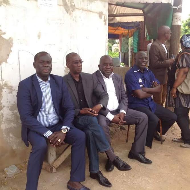Les images des coulisses de l'audition de Ousmane Sonko